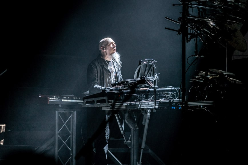 Jordan Rudess of Dream Theater - Photo by Chris Taylor Local Concert Ordway Minneapolis Minnesota St. Paul Review