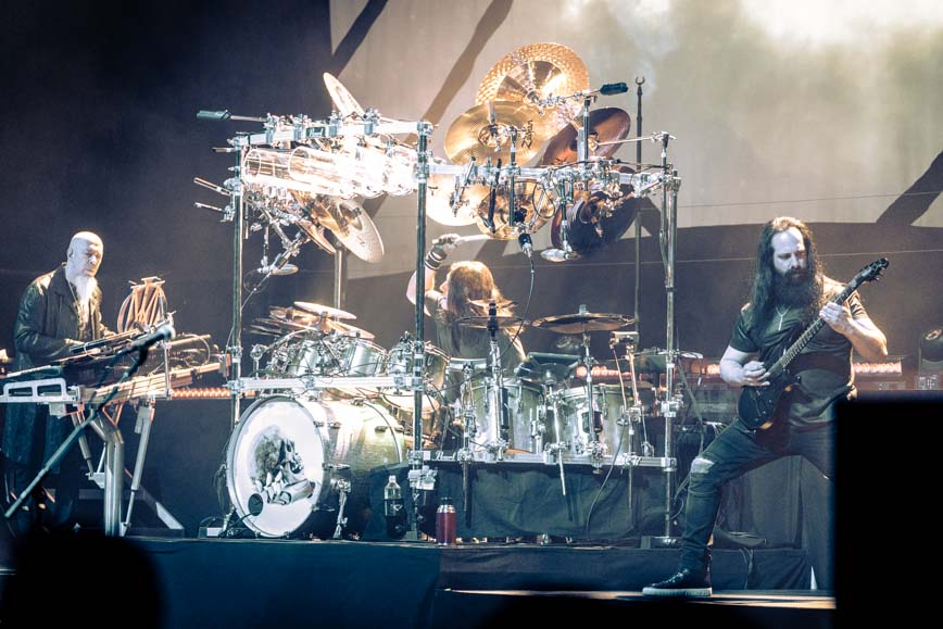 Mike Mangini of Dream Theater - Photo by Chris Taylor Local Concert Ordway Minneapolis Minnesota St. Paul Review