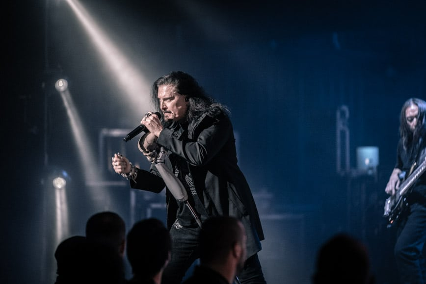 James LaBrie of Dream Theater - Photo by Chris Taylor Local Concert Ordway Minneapolis Minnesota St. Paul Review