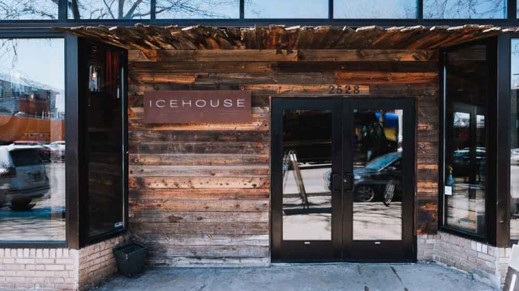 Icehouse front