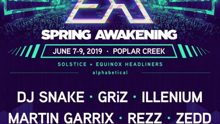 Spring Awakening 2019 Headliners