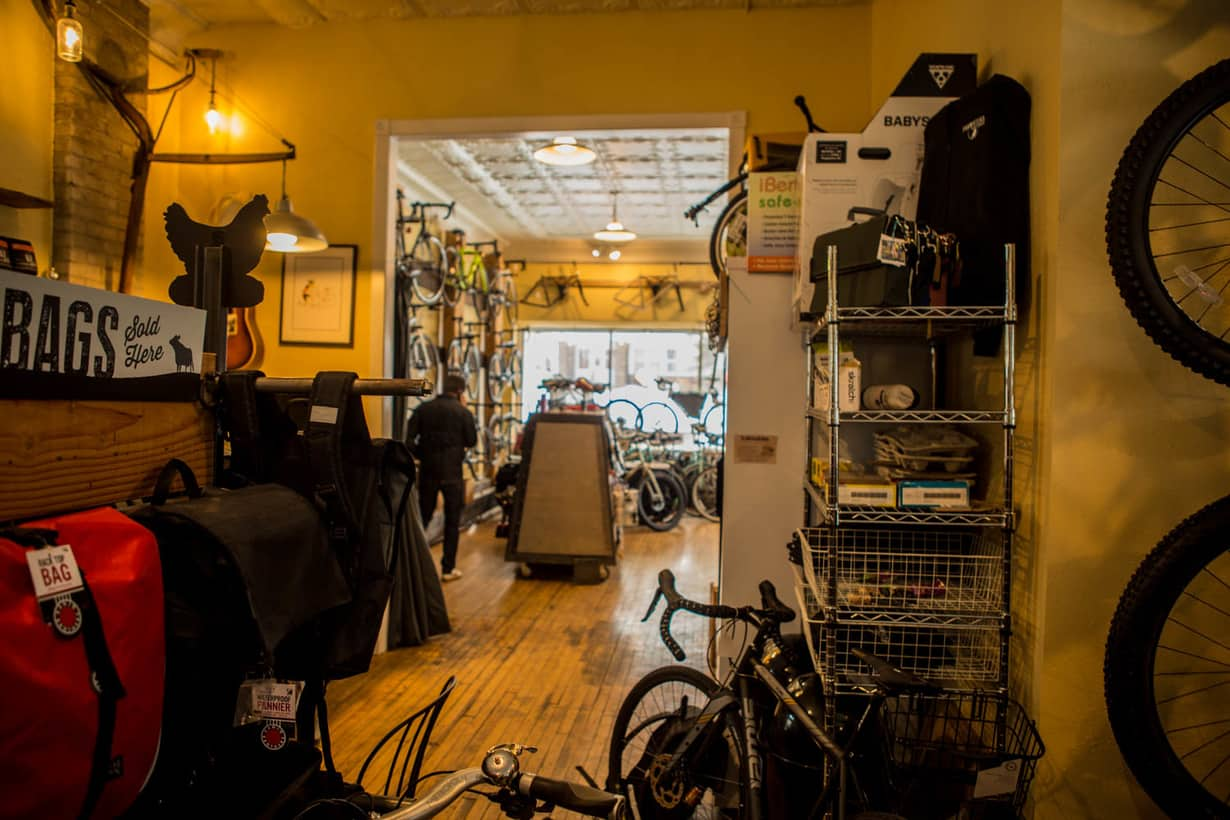 Bike Shop above Warming House