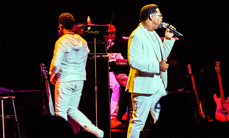 Nathan Morris of Boyz II Men Ordway Center for Performing Arts St Paul Minnesota March 31 2019