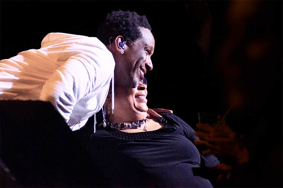 Shawn Stockman of Boyz II Men Ordway Center for Performing Arts St Paul Minnesota March 31 2019