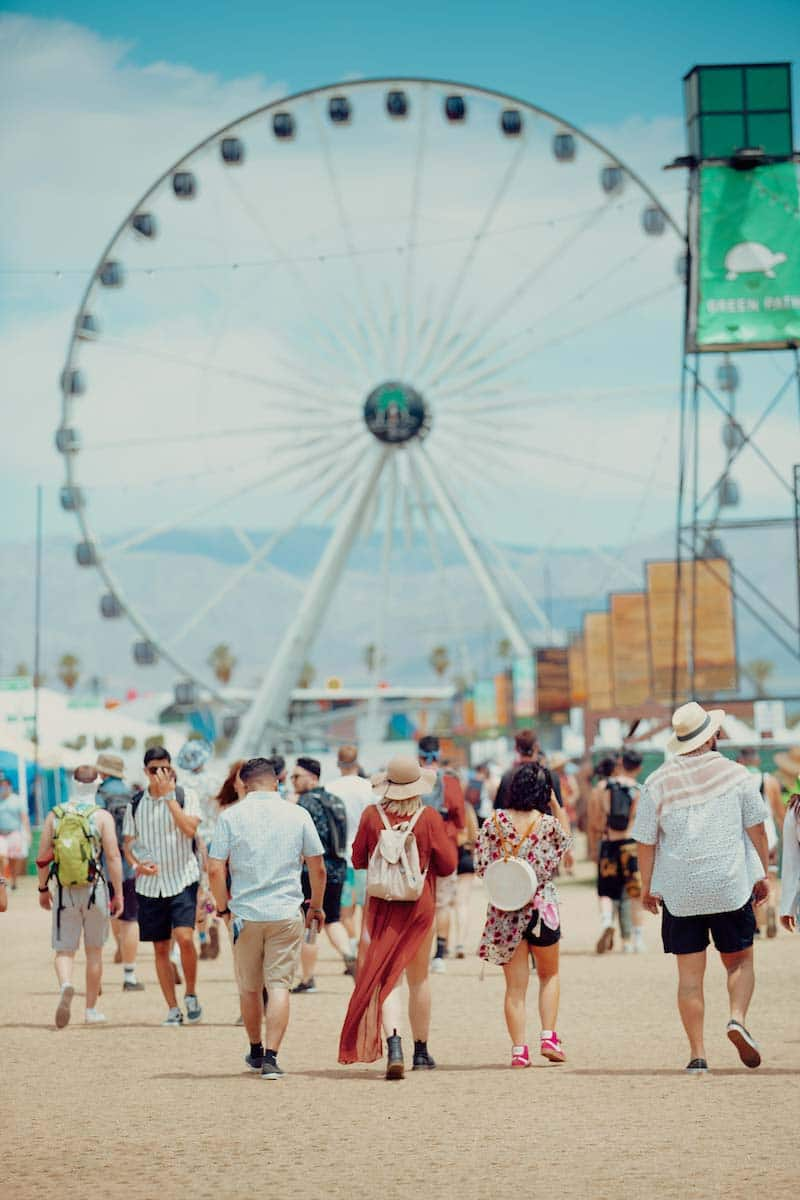 Ferris Wheel - Courtesy of Coachella, Elli Lauren
