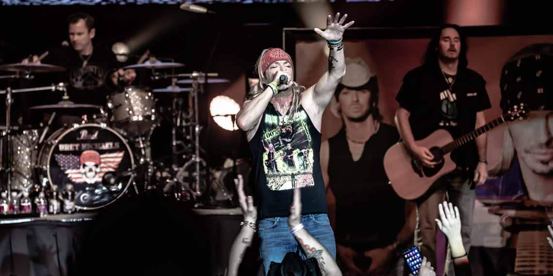 Bret Michaels, Poison, Mystic Lake, Music In Minnesota, Rock, Hair Metal
