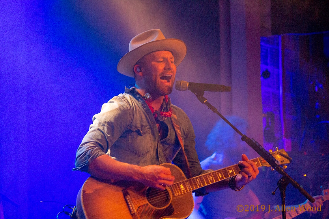 Singer-songwriter Drake White plays guitar and sings in Minneapolis