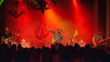 Drake White and The Big Fire on state at the Varsity Theater