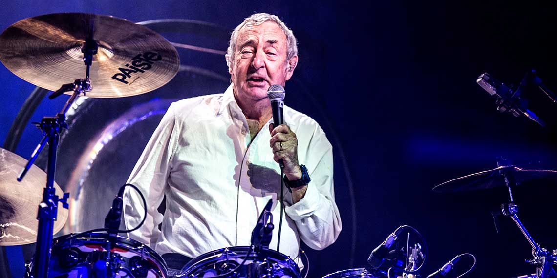 Nick Mason, Saucerful of Secrets, The Heartbeat of Pink Floyd, Drummer, Orpheum Theatre, Pink Floyd, Gary Kemp, Spandau Ballet, Guy Pratt, Lee Harris, Dom Beken, The Piper At The Gates of Dawn, 2018 tour, classic rock, psychedelic rock