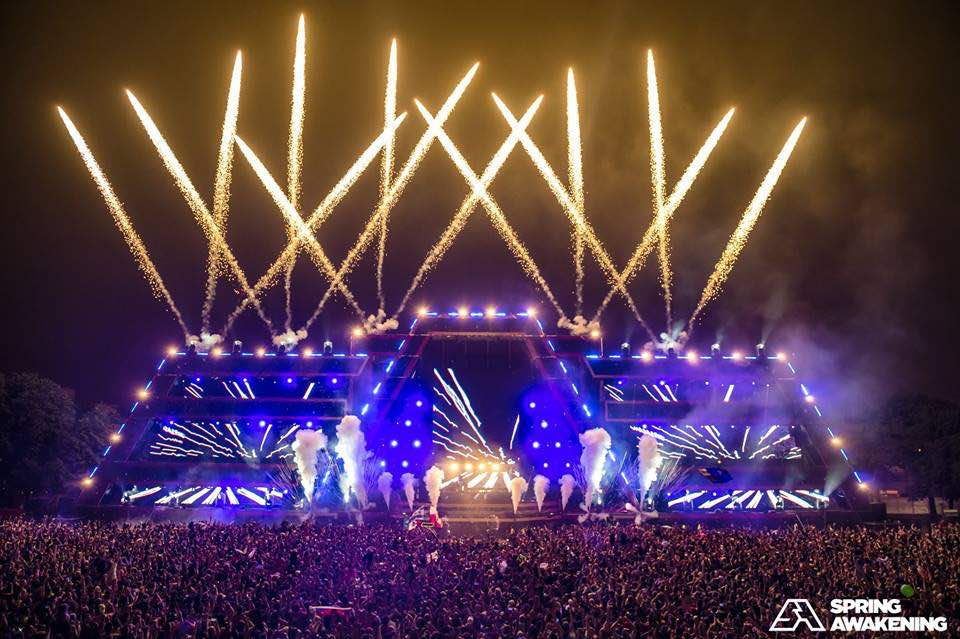 SAMF Spring Awakening Music Festival Chicago IL Solstice Stage