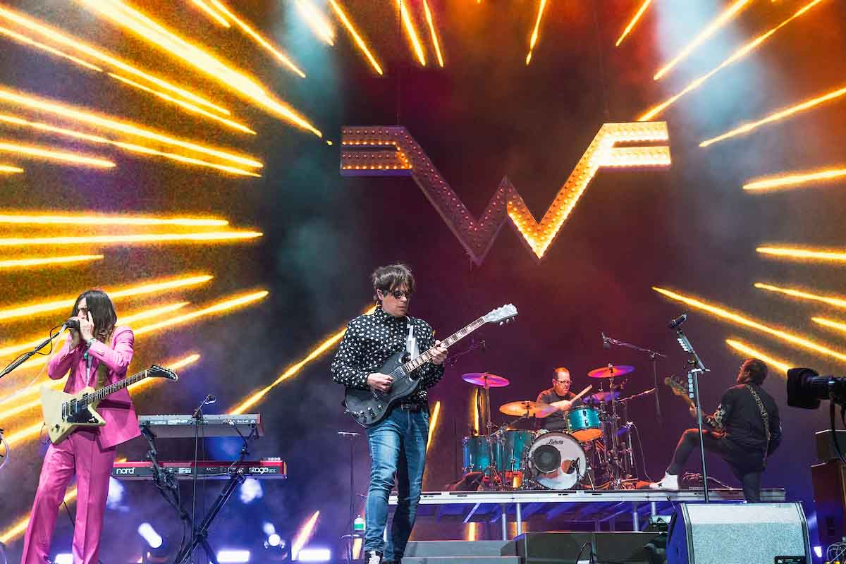 Weezer - Courtesy of Coachella, Calder Wilson