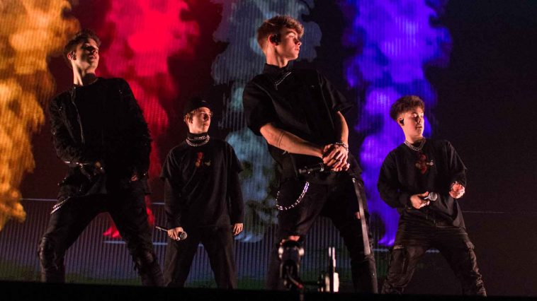 Why Don't We at Roy Wilkins Auditorium