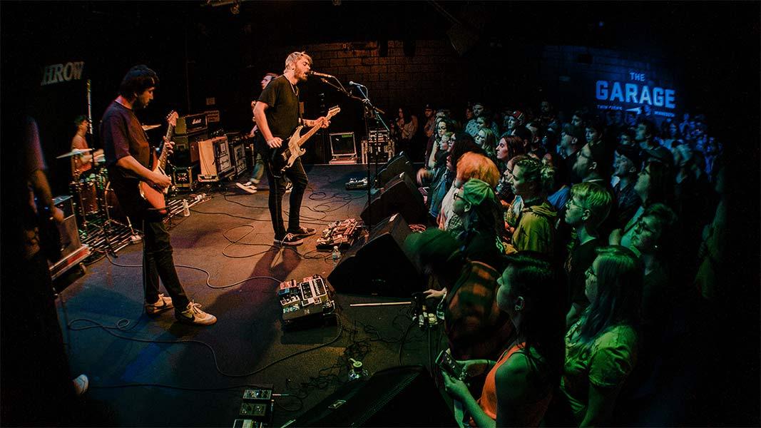 Free Throw Seaway the Garage Burnsville Minnesota May 6 2019 Pop Punk Fresh Produce Tour