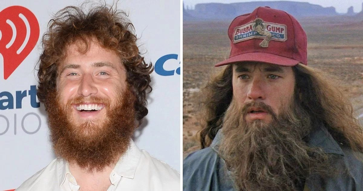 Mike Posner and Forrest Gump