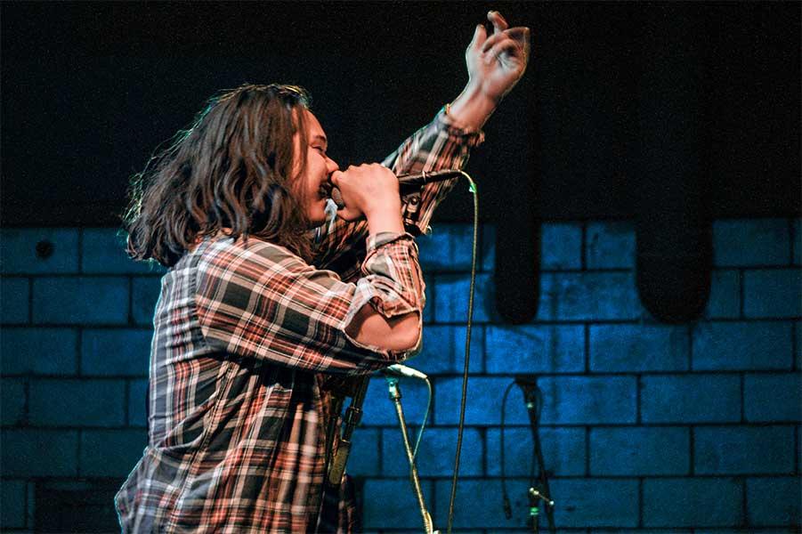 Alex Magnan Young Culture Seaway the Garage Burnsville Minnesota May 6 2019 Pop Punk Fresh Produce Tour