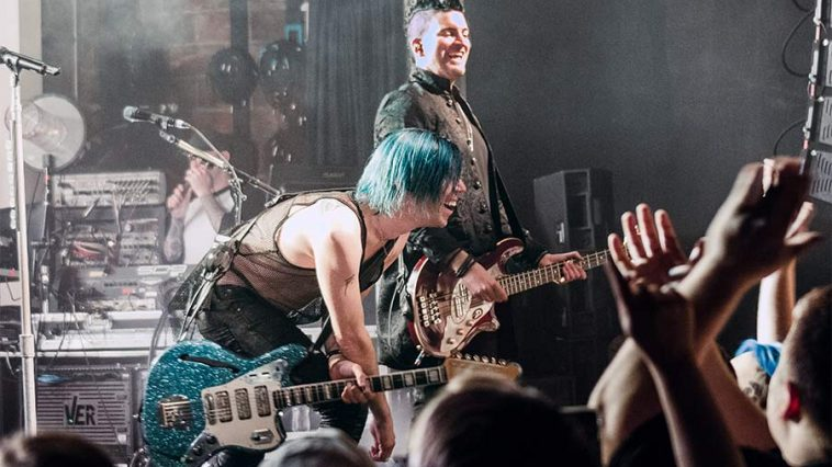 Josh Ramsey and Mike Ayley Mariana's Trench Varsity Theater Suspending Gravity Tour May 25 2019