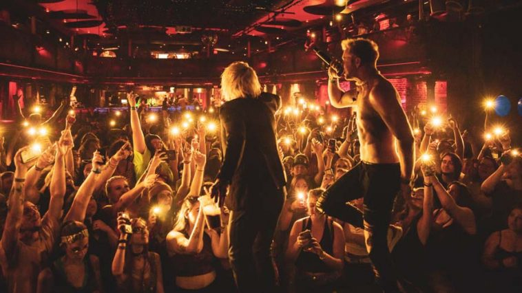 Mod Sun and LostinVegas performing while crowd lights up venue with lights