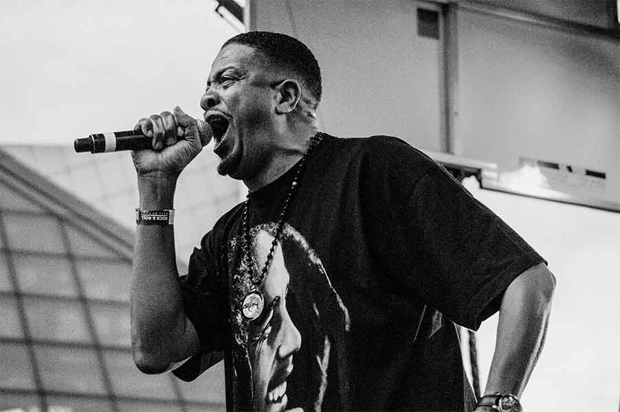 Chali 2na Warped Tour 25th Anniversary Opener Cleveland Ohio Rock and Roll Hall of Fame June 8 2019