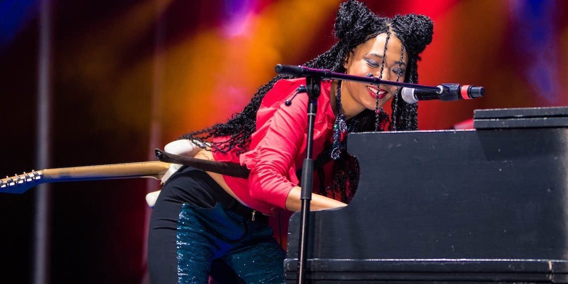 Judith Hill, Summer Skolstice, Photo by Travis Meier, Summer Festival, TCO Field