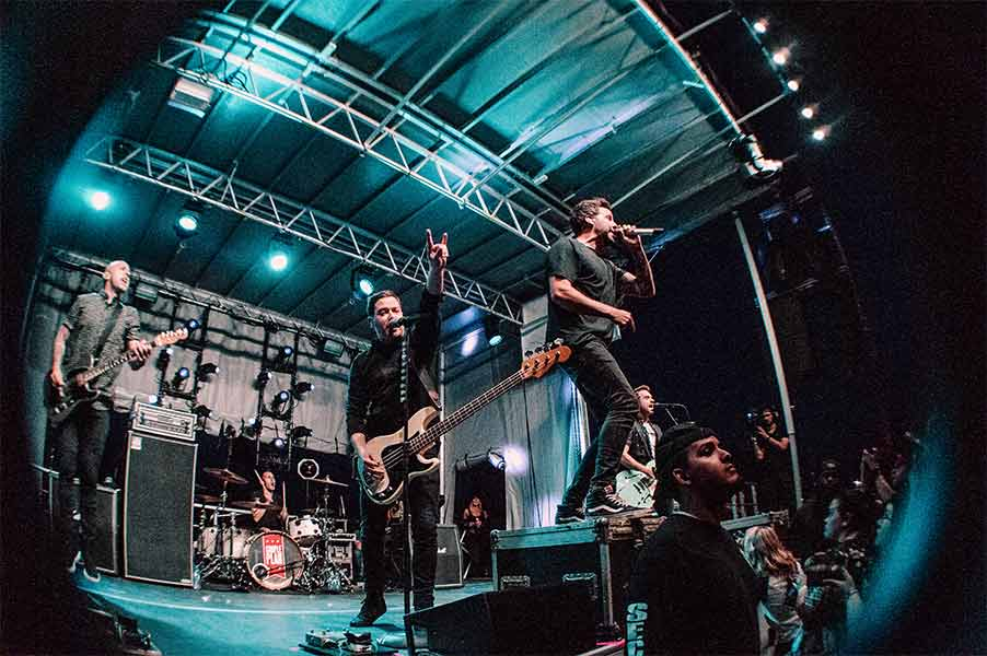 Simple Plan Warped Tour 25th Anniversary Opener Cleveland Ohio Rock and Roll Hall of Fame June 8 2019