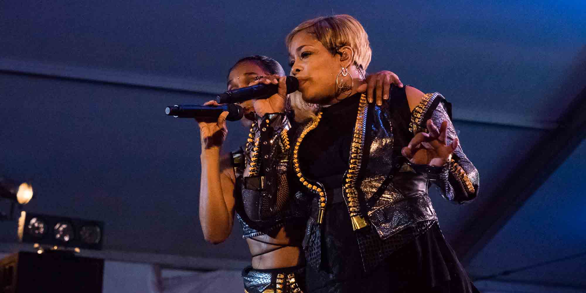 TLC at Twin Cities Pride 2019 Minneapolis Minnesota LGBTQ T-Boz Left-Eye Chilli