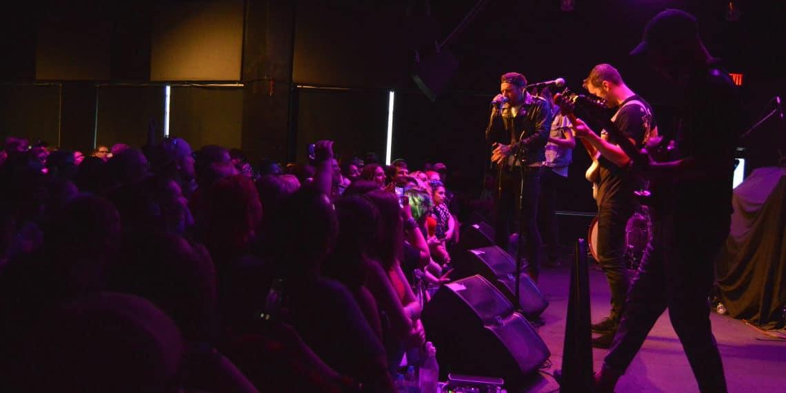 Emarosa sings packed crowd The Garage Burnsville