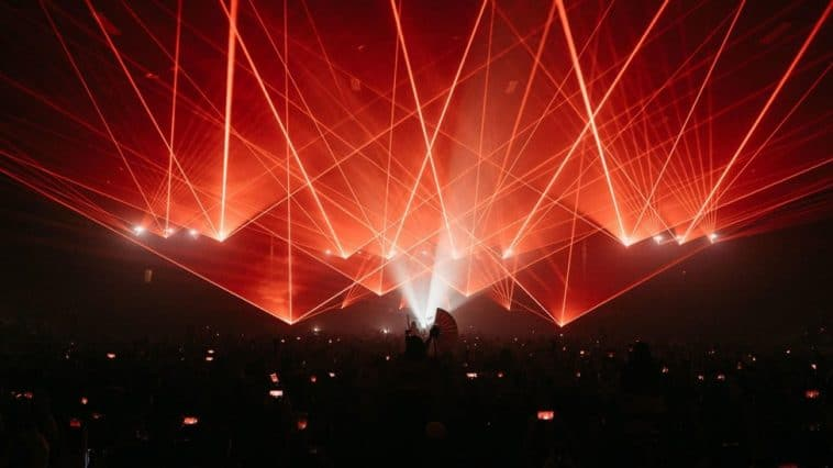 Gareth Emery Laserface Minneapolis Armory Halloween