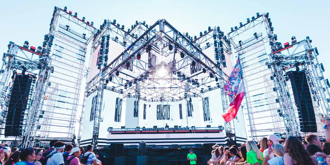 Ghastly Performs Solstice Stage SAMF Spring Awakening