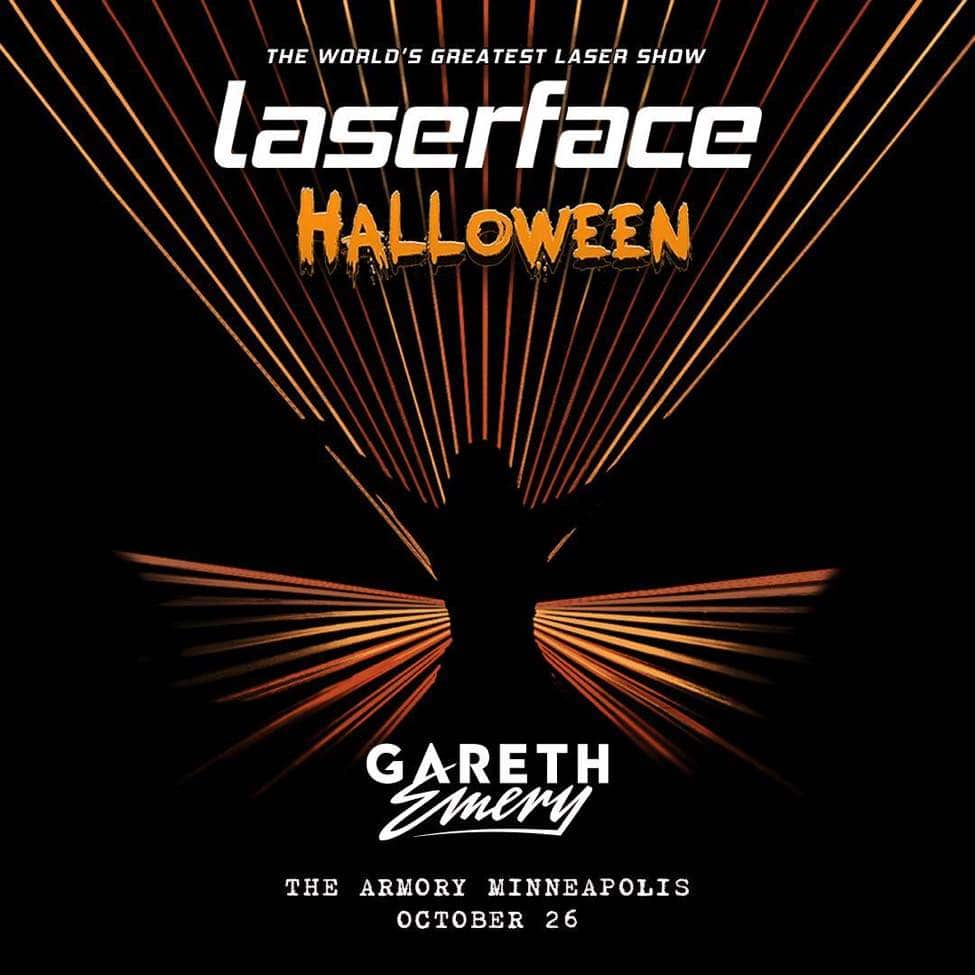 Gareth Emery Laserface at Minneapolis Armory Halloween