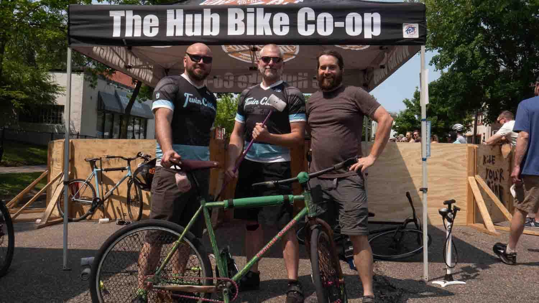 Minneapolis Bike Polo members 2019