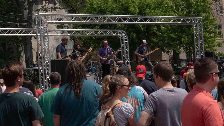 Frogleg performs live in minneapolis