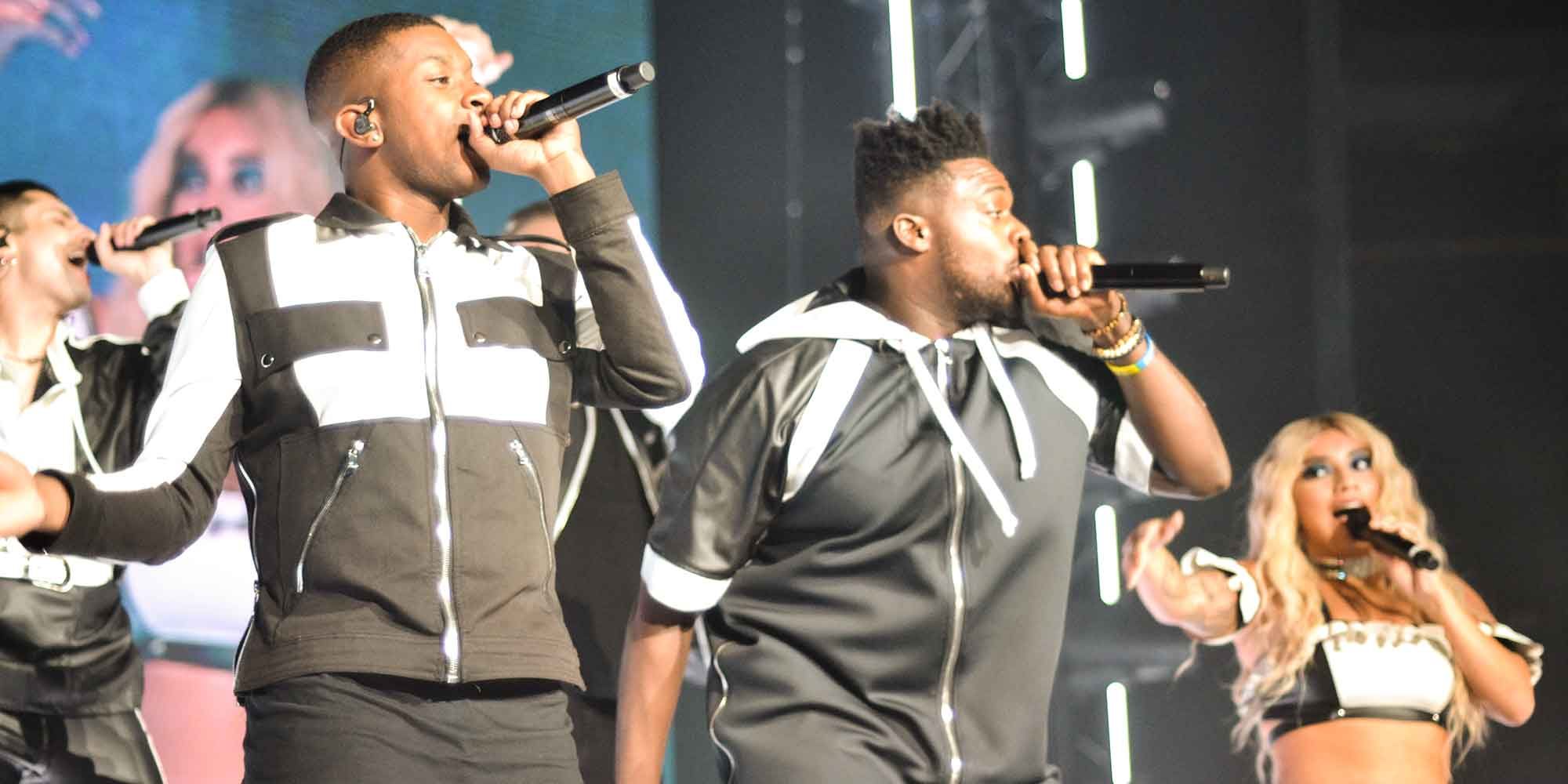 Kevin Olusola and Matt Salle of Pentatonix, Photo by Dylan Novacek