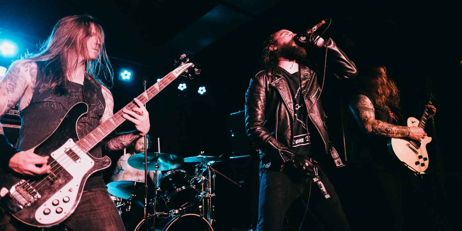Skeletonwitch @ The Turf Club photo by Jake Cobb
