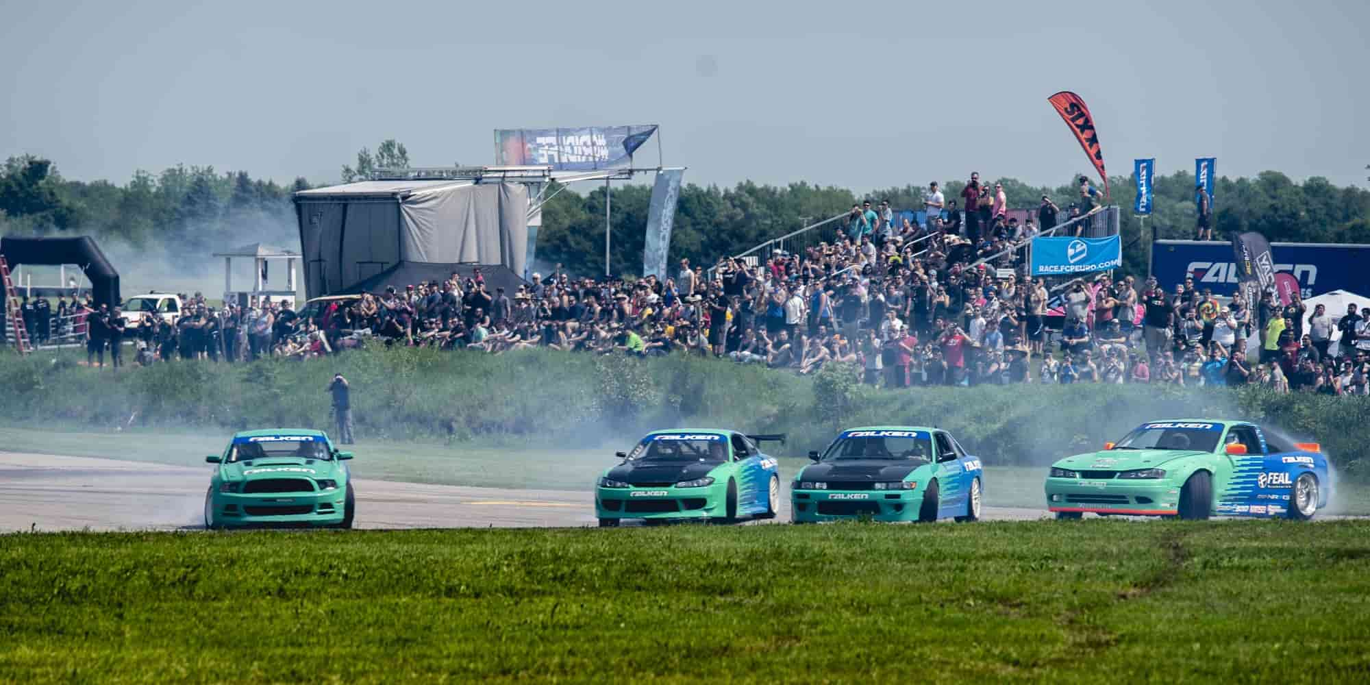 Gridlife Midwest 2019  Falken Team South Haven, Michigan Gingerman Raceway