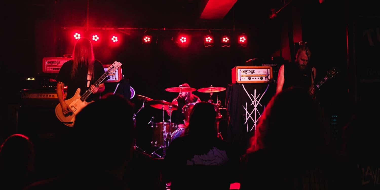 Wiegedood @ The Turf Club Photo by Jake Cobb