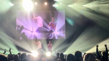 Rhett and Link performing in Minneapolis. Good Mythical Morning.