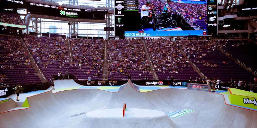 P.O.S, X-Games, X Games, X Games 2019, Minneapolis, US Bank Stadium, The Armory, Wu-Tang Clan, Wu Tang Clan, Enter The Wu-Tang (36 Chambers), Young Dirty Bastard, ODB, Tate Carew, Daiki Ikeda, Sora Shirai, Misugu Okamoto, Lizzie Armanto, Cocona Hiraki, Corey Creed, Tyler Bereman, Colby Raha, Ryan Williams, Vince Byron, Mykel Larrin, Rob Adelberg, Josh Sheehan, Morgan Wade, Jackson Strong, Moto X Freestyle, Next X Skateboard Street, Next X Skateboard Park, Pacifico BMX Park, The Real Cost Skateboard Big Air, Monster Energy Moto X Best Trick, Monster Energy Men's Skateboard Street, Adaptive Skateboard Park, BMX Street, The Real Cost BMX Dirt and Moto X Best Whip, Women's Skateboard Park, The Real Cost BMX Big Air, Moto X QuarterPipe High Air, Moto X Freestyle and a Men's Monster Energy Skateboard Street Elimination The Blind Shake Incubus Brandon Boyd Dave Mirra's BMX Park Best Trick Women's Skateboard Street, Wendy's Men's Skateboard Park, Harley-Davidson Hooligan Racing Daniel Mischler Tony Alves Kole King Nyjah Huston Ivan Federico Jagger Eaton Alex Sorgente Aori Nishimura Momiji Nishiya Mariah Duran Mike Varga Tyler Bereman Tom Parsons Jarryd McNeil Josh Sheehan Garrett Reynolds Matt Ray