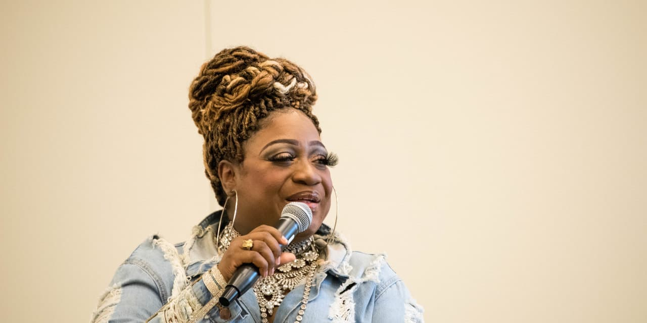 Jamecia Bennett speaking @ the Fame Summit 2019. She speaks about her music career and gives information about licensing your work