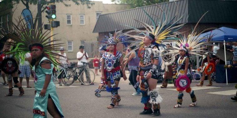 Indian Dancers in Minnesota