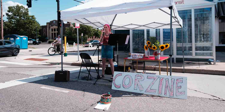 open streets NE. Corzine- Photo by Jake Cobb