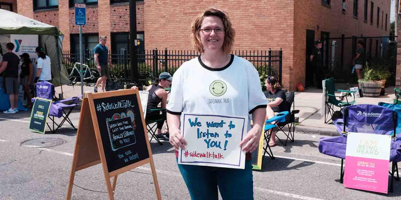 open streets NE- Sidewalk talk