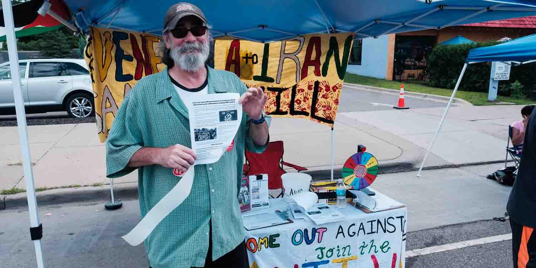 Open Streets NE. Anti War Committee- Photo by Jake Cobb