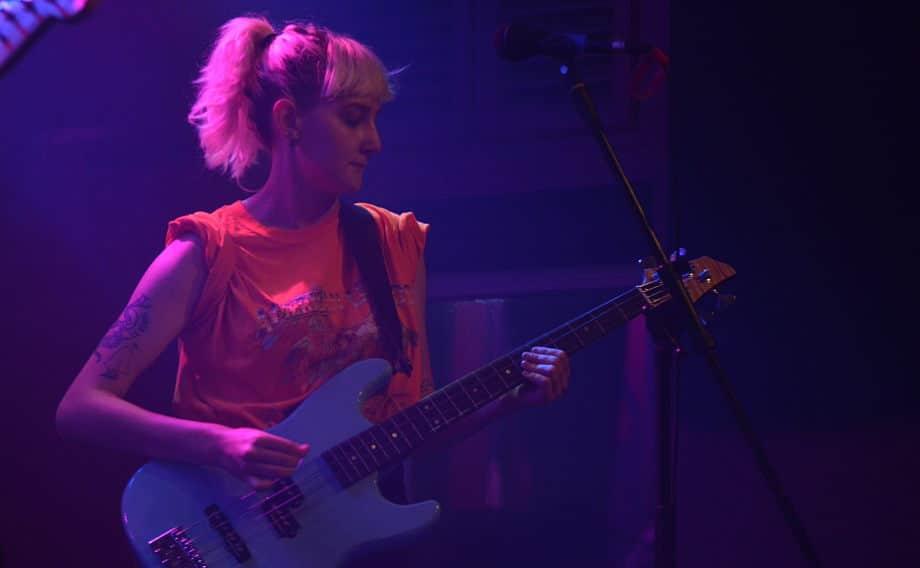 Last Import - Grace Baldwin plays bass