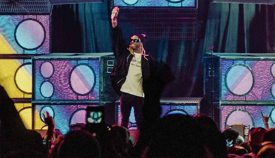 Blink-182 Lil Wayne Neck Deep Xcel Energy Center September 12 2019 tour