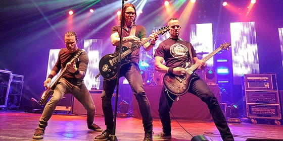 Myles Kennedy, Mark Tremonti, Brian Marshall