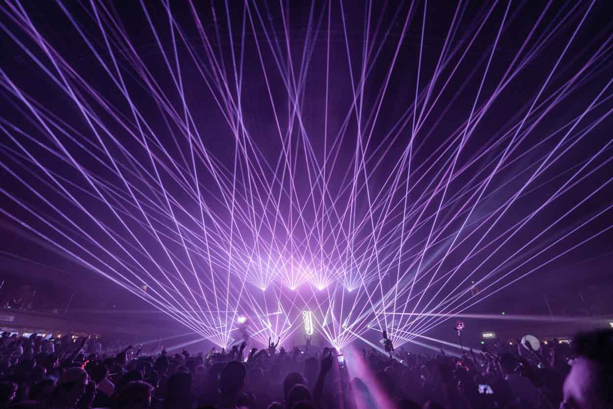 Gareth Emery Laserface Lasers Biggest Light Show Armory Minnesota MN Concert EDM Electronic Photography Music