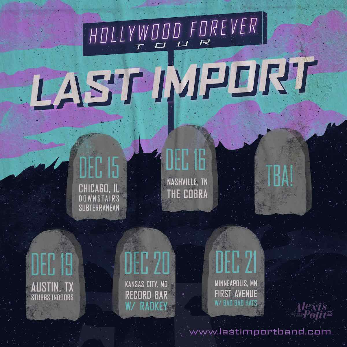 Last Import Band Surf-Punk Hollywood Forever