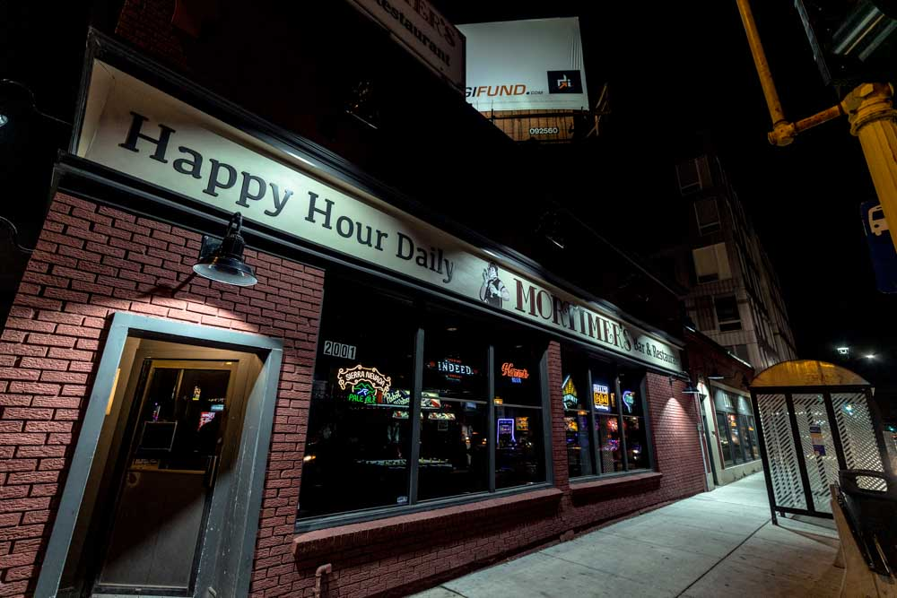 Mortimer's Exterior - Photo by Chris Taylor Local Music Twin Cities Smouse in the house Minneapolis Venue Tour