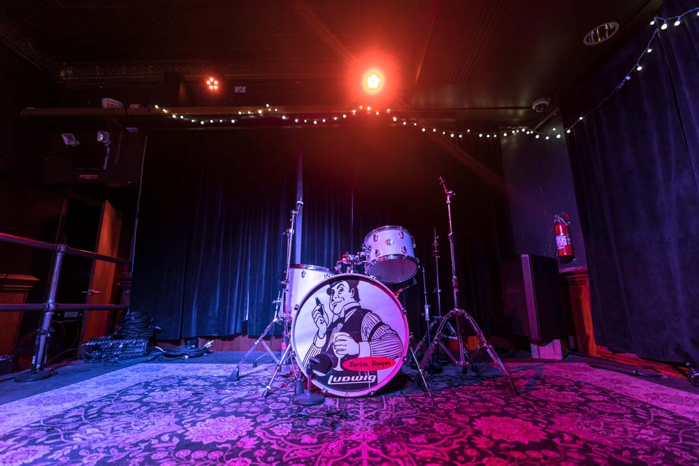 Mortimer's Stage - Photo by Chris Taylor Local Music Twin Cities Smouse in the house Minneapolis Venue Tour