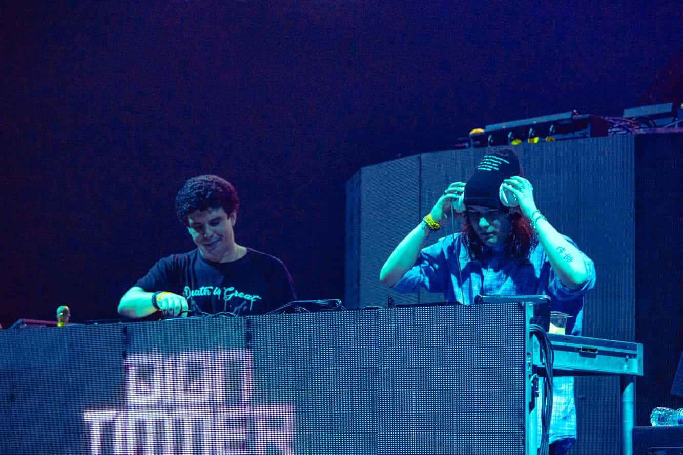 Dubloadz & Dion Timmer at The Evolution Tour